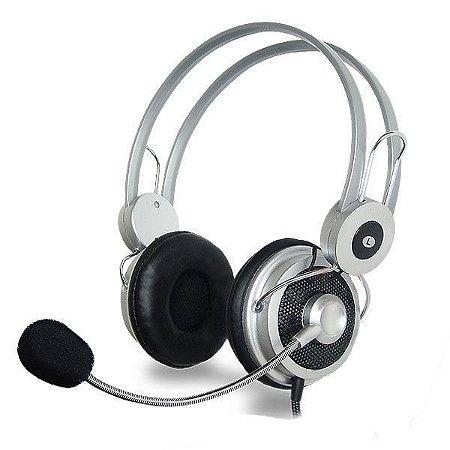 Fone de ouvido Headphone c/microfone/volume/bass  HM-610MV HIPERMUSIC