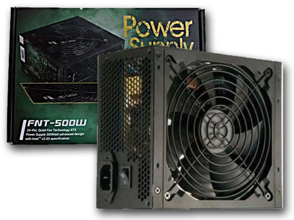 Fonte Gamer Real Atx Hoopson 500w