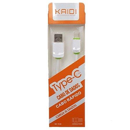 cabo de dados Tipo C kaidi 1 metro KD-TC30
