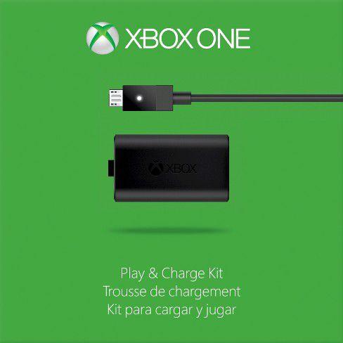 Kit Play And Charge Bateria E Carregador Xbox One