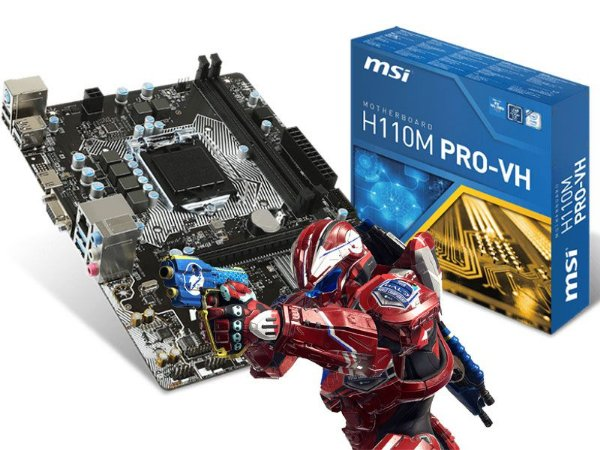 Placa-mãe Msi P/ Intel Lga 1151 Matx H110m Pro-vh Plus Ddr4