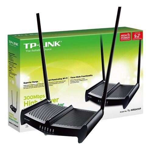 Roteador Wireless Tl Wr 841hp 1000mw Antena 8dbi