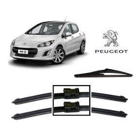 """Kit Limpador De Parabrisa Dianteiro Peugeot 3008/308/408/508 28""""/26"""""""