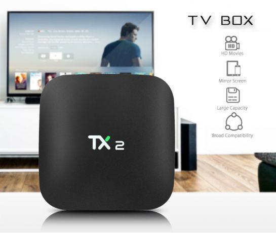 Tv Box 4k 2gb Ram 16gb Rom TX2