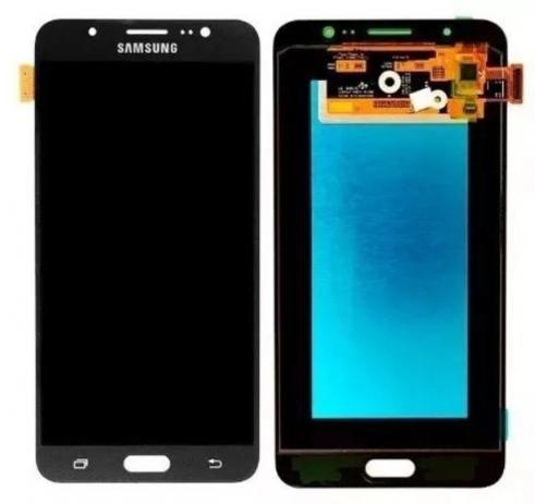 Frontal Samsung J7 metal *AAA* preto