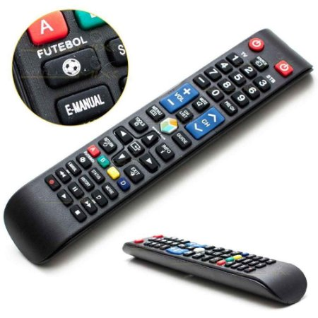 Controle Remoto Samsung Smart Tv Led 3d Futebol