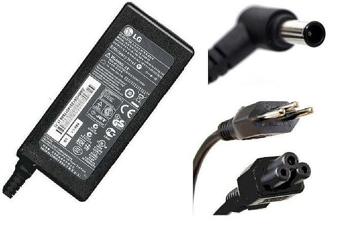 Fonte Notebook Lg 19v X 3.42 Amp Plug P4