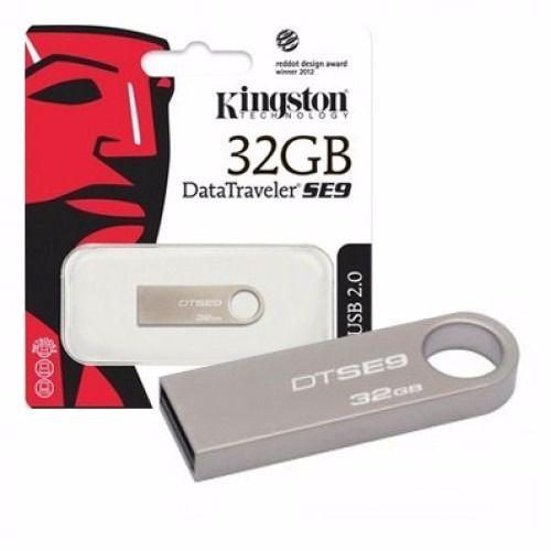 PenDrive Kingston 32gb Dt Se 9 Original