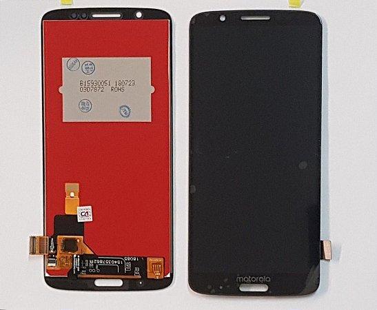 Frontal Motorola Moto G6 Plus Preto