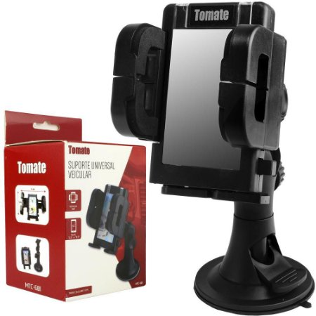 SUPORTE VEICULAR PARA CELULAR/GPS TOMATE MTC-601