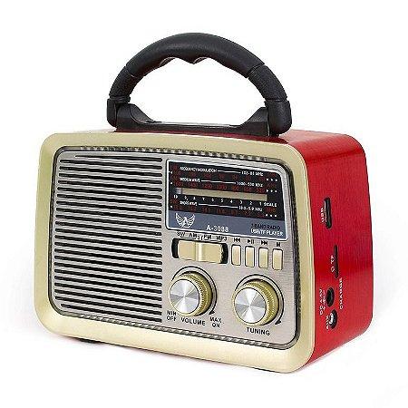 RADIO AM/FM RETRÔ ALTOMEX A-3188