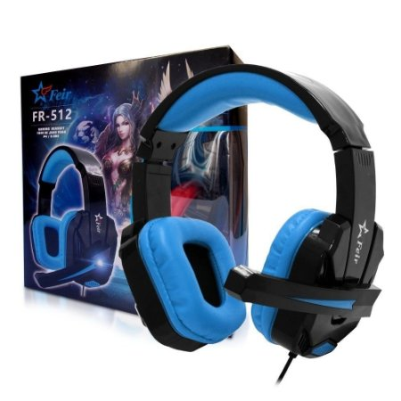 Fone Ouvido Gamer Ps3 Ps4 Pc Xbox Headset Microfone Feir-512