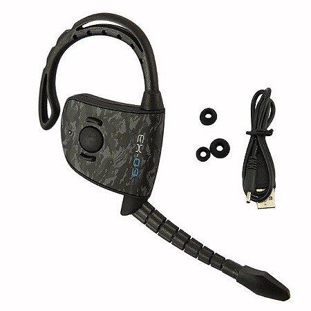 Fone Ouvido Bluetooth Ex 03 Headset Ps3 Ps4 Online Camuflado
