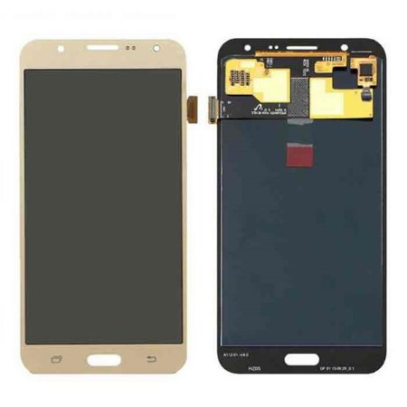 Frontal Samsung J7/J710 metal Dourado