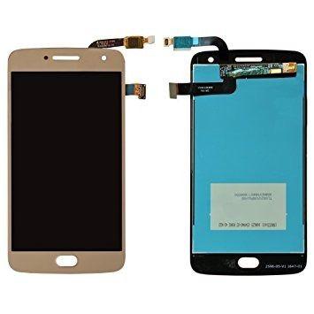 Frontal Motorola Moto G5 Plus Dourado