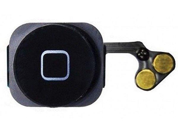 Flex Botão Home iphone 5g Completo Preto