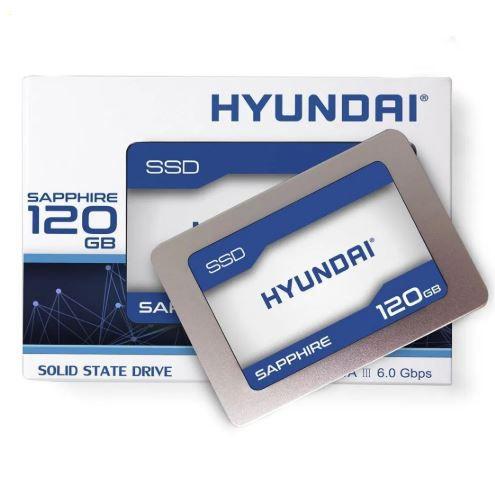 Hd Ssd 120gb Hyundai Sata 2,5 Pol 7mm Sata