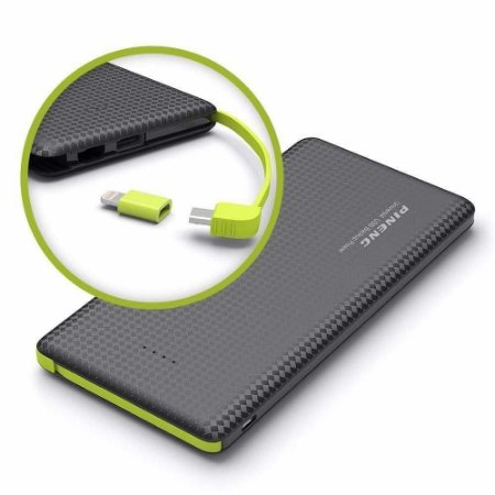 Carregador Portátil Universal Power Bank Pineng PN-951 5000 mah Original