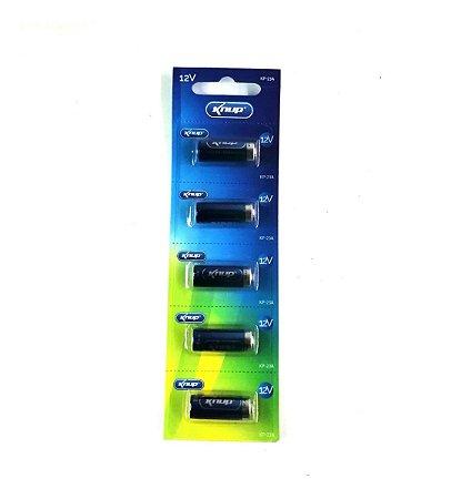 Bateria 23A Knup Cartela com 5 Pçs