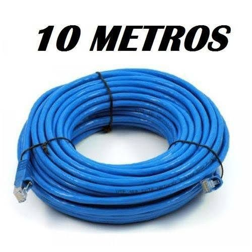 Cabo De Rede 10 Metros Blindado Com Proteção