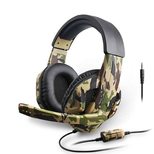Fone Headphone Gamer Camuflado Xbox One Ps4 Pc Xbox 360 Otvo