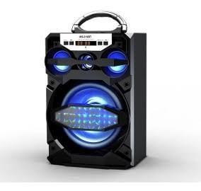 CAIXA DE SOM USB/SD BLUETOOTH FM RECARREGAVEL 15W MS-219BT