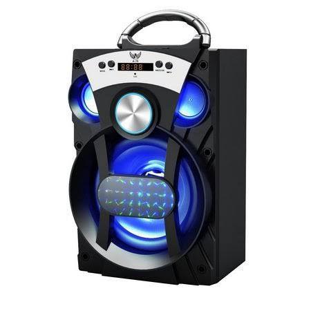 CAIXA DE SOM USB/SD BLUETOOTH FM RECARREGAVEL 15W A-79