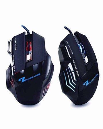 Mouse Gamer Profissional B-max X7 Gaming Preto 7d / 2400dp