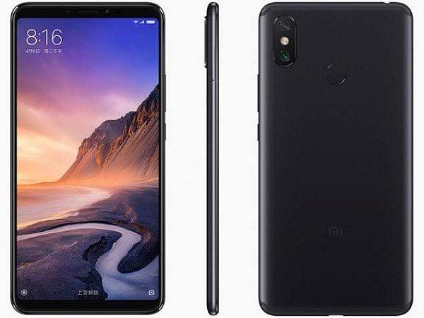 "Smartphone Xiaomi Mi Max 3 4/64 Tela 6,9"""