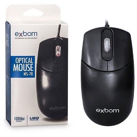 Mouse Óptico USB Grande