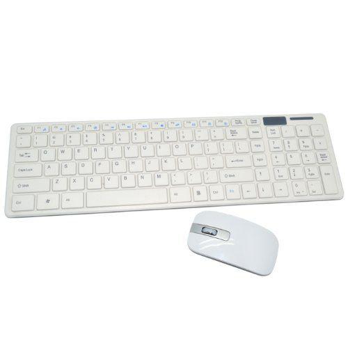 Kit Teclado Mouse Sem Fio Wireles Gamer 2.4ghz Slim