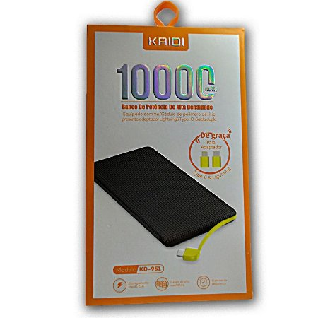 Powerbank 10,000 mah Kaid KD-951