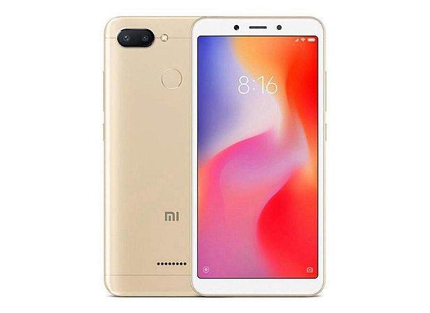 Smartphone Xiaomi Redmi 6 4gb/64gb 4g Dourado