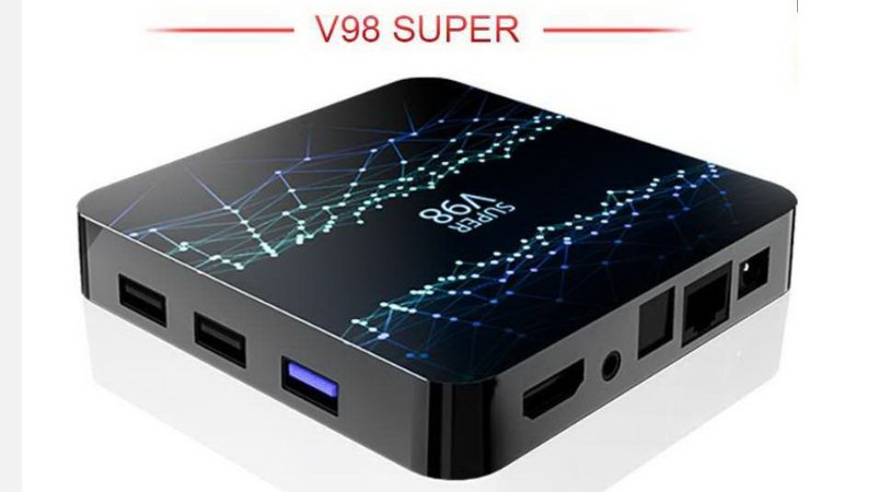 Tv Box 4k V98 2GB 16GB