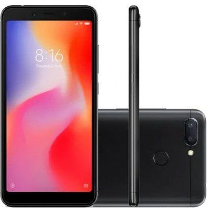 Smartphone Xiaomi Redmi 6 4gb/64gb 4g Orig.Black