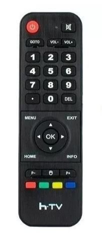 CONTROLE REMOTO PARA RECEPTOR 7080 HTV 7080