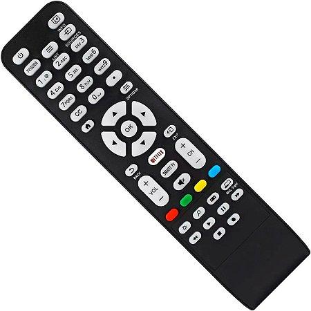 CONTROLE REMOTE SMART TV AOC C/NETFLIX 8050