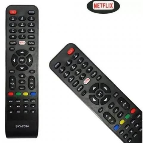 CONTROLE REMOTE TV PHILCO NETFLIX SMART 7094