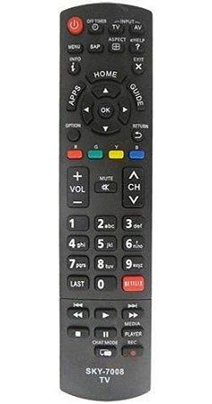 CONTROLE REMOTE TV PANASONIC NETFLIX 7008