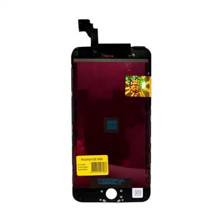 FRONTAL IPHONE 6 PLUS GOLD EDITION GE-806 PRETO