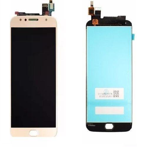Frontal Motorola Moto G5S Plus Dourada *AAA*