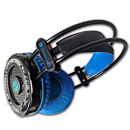 Headphone Gamer Banson Tech f1608 colorido rgb