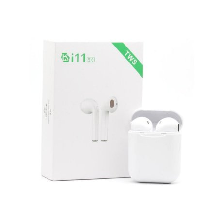 Fone Bluetooth Branco I11 V5.0 Tws Touch Android E AirPods