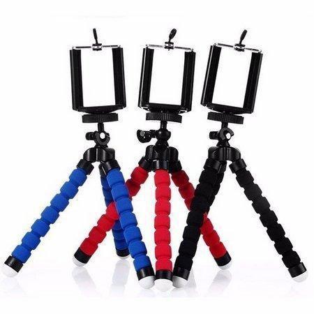 Tripé Pedestal Flexível Com Suporte Para Celular Smartphone