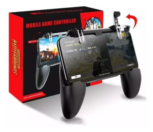 Controle Game Pad Celular Android iPhone Free Fire Pubg