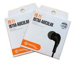 Fone De Ouvido Intra Auricular PmCell F0-11