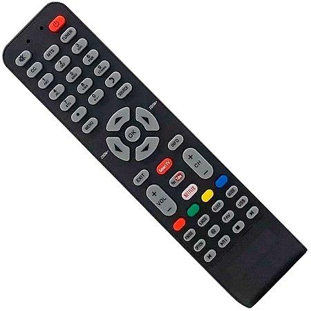CONTROLE REMOTE PARA TV TOSHIBA COM TECLA SMART