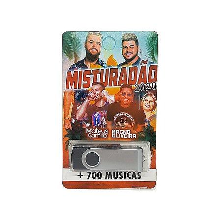 Pendrive musical 700-1000 musicas misturadão 2020