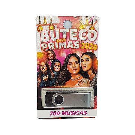 Pendrive musical 700-1000 musicas buteco das primas 2020
