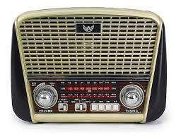RADIO AM/FM/USB/SD RECARREGAVEL RETRÔ ALTOMEX J-107